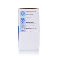 Wellness WEFC5 Countertop Wireless Toothbrush UV Sanitizer