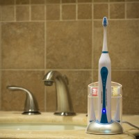Wellness HP-STX Ultra High Powered Sonic Electric Toothbrush with Dock Charger & 10 Brush Heads