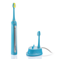 Wellness WTB48K 48,000 Ultra High Powered Sonic Electric Toothbrush and Charging Dock with 6 Heads